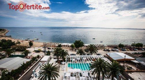 Гърция, Халкидики, Ситония хотел Cronwell Resort Sermilia 5* през Юни! 5 нощувки за Двама и дете до 12 г + закуски, вечери, басейн, чадъри и шезлонги на плажа САМО за 890 лв