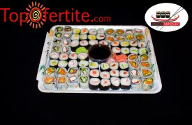 Суши сет от 70 уникално вкусни хапки от Суши Маркет за 19,90лв вместо за 39,90лв