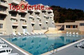 Сандански, хотел Панорама Уелнес и СПА 3*! Нощувка за Двама + закуски, вечери, открит басейн с минерална вода, фитнес и сауна на цени от 83 лв