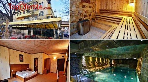 Велинград, хотел България 3* СПА почивка! Нощувка за Двама + закуски, вечери, топъл минерален басейн, джакузи, сауна, парна баня само за 73.50 лв