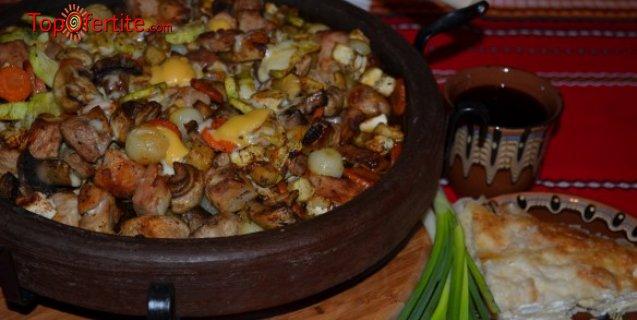 Касапска гощавка на сач, Кръчмарски сач или Манастирски сач - 0, 500 гр. за Двама от ресторант Мамбо само за 11, 11 лв, вместо 23 лв