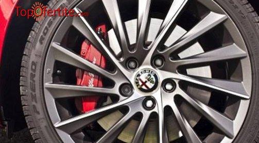 Смяна на 2 броя гуми с включен монтаж, демонтаж и баланс от Сервиз Фиат, Ланчия и Алфа Ромео само за 8,80 лв