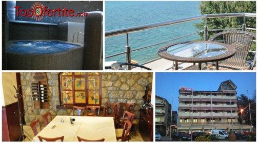 Хотел Тино 4*, Охрид, Македония! Нощувка за ДВАМА + закуски и СПА пакет само за 68 лв.