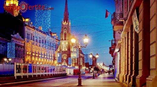 Сърбия, Нови Сад хотел Park 5* за Нова година! 3 нощувки + 3 закуски, Новогодишна празнична вечеря с жива музика и транспорт само за 435 лв