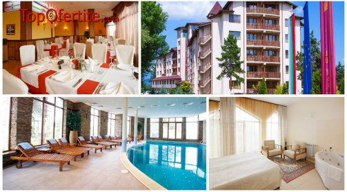Хотел СПА Клуб Бор 4*, Велинград! 2 нощувки за 2 възрастни + 2 деца в Апартамент + закуски, вечери, 1 СПА процедура и Уелнес пакет само за 250 лв