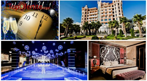 Хотел Роял Касъл 5*, Елените за Нова година! 2 или 3 нощувки за Двама + закуски, вечери и Уелнес пакет на цени от 455,60 лв