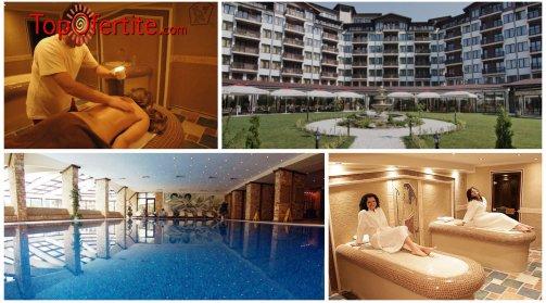 Балнео хотел Свети Спас 5*, Велинград! 2 нощувки в Апартамент за четирима + закуски, вечери и Уелнес пакет само за 330 лв