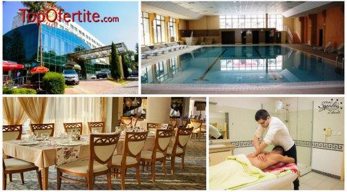 Хотел Здравец Уелнес и СПА 4*, Велинград! 1 нощувка + закуска, обяд, вечеря, чаша вино и СПА пакет само за 55 лв на човек