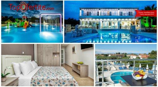 Халкидики, Гърция РАННИ ЗАПИСВАНИЯ за Anna Hotel 3*, Пефкохори! Нощувка  + закуска, вечеря и ползване на басейн  на цени от 35,90 лв. на човек