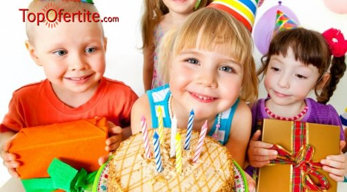 Детски рожден ден в ресторант Дон Домат с Puffy Kids - 120 минути с DJ аниматор и детски менюта за до 20 деца на цени от 199 лв.