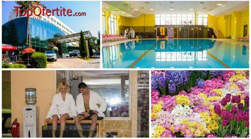 Хотел Здравец Уелнес и СПА 4*, Велинград през Пролетта! 1 нощувка + закуска, вечеря, Уелнес пакет и 1 процедура Fish Spa на цени от 62лв на човек