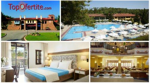 Халкидики, Гърция РАННИ ЗАПИСВАНИЯ хотел Simantro Beach 4* за Великден! 3 или 4 нощувки + закуски, вечери, празничен обяд и празнична програма и опция All Inclusive на цени от 227,90 лв. на човек