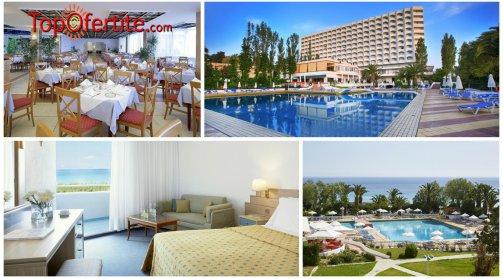 Халкидики, Гърция РАННИ ЗАПИСВАНИЯ хотел Pallini Beach 4* за Великден, първа линия! 3 или 4 нощувки + закуски, вечери, празничен обяд и празнична програма на цени от 233,80 лв. на човек