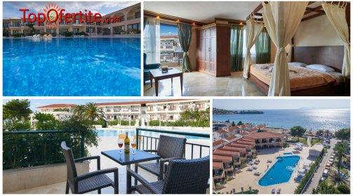 Халкидики, Гърция РАННИ ЗАПИСВАНИЯ хотел Toroni Blue Sea 3* за Великден! 3 или 4 нощувки + закуски, вечери и опция празничен обяд на цени от 168,30 лв. на човек