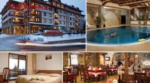 Хотел Перелик Палас 4*, Пампорово! 1 нощувка + закуска, вътрешен отопляем басейн, сауна, фитнес и дете до 12 г Безплатно само за 55 лв на човек