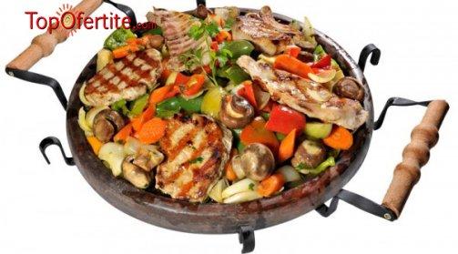 Сач по избор - Овчарски качамак,  Агнешка главичка, Кръчмарски или Касапска гощавка в ресторант Мамбо на цени от 3,99 лв