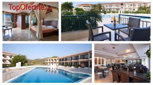 Хотел Toroni Blue Sea 3*, Халкидики, Гърция! Нощувка + закуска, обяд и вечеря на цени от 53 лв. на човек