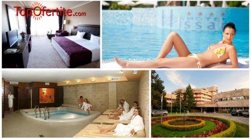 Хотел Хисар 4*, Хисаря, Делник! Нощувка + закуска, басейни с минерална вода и СПА пакет на цени от 52.50 лв. на човек