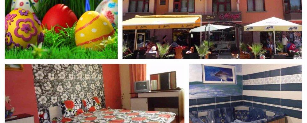 Хотел Маги, Велинград за Великден! 2 или 3 нощувки + закуски, празничен обяд и Уелнес пакет на цени от 92 лв. на човек
