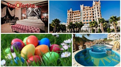 Хотел Роял Касъл 5*, Елените за Великден! 2, 3 или 4 нощувки + закуски, вечери, Великденски обяд и Уелнес пакет на цени от 150.50 лв за един човек