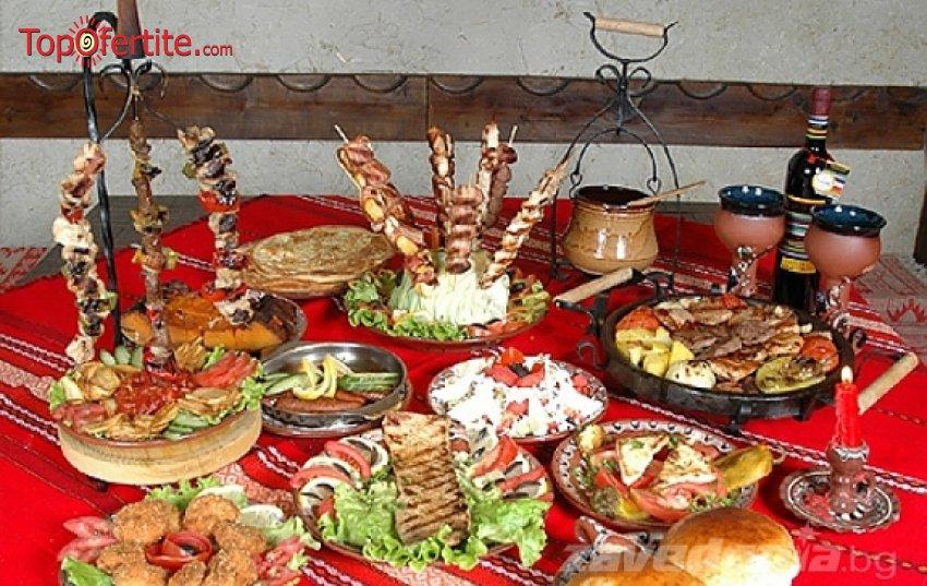 Богат празничен куверт включващ 4-степенно меню и питие за всеки повод - бал, рожден ден, семинар или фирмено парти в ресторант Мамбо само за 15 лв. на човек вместо за 29 лв