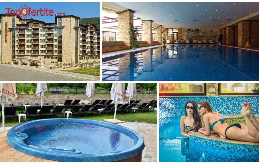 Балнео хотел Свети Спас 5*, Велинград през юни! Нощувка + закуска, вечеря, 1 СПА процедура и Уелнес пакет за 57,50 лв на човек и Безплатно дете до 12 г