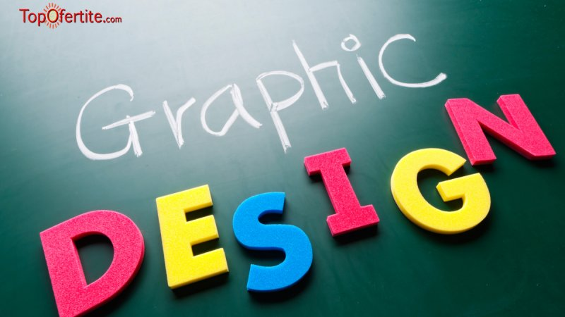 Курс по Графичен дизайн с два модула: Photoshop и CorelDRAW в редовна съботно-неделна или онлай...