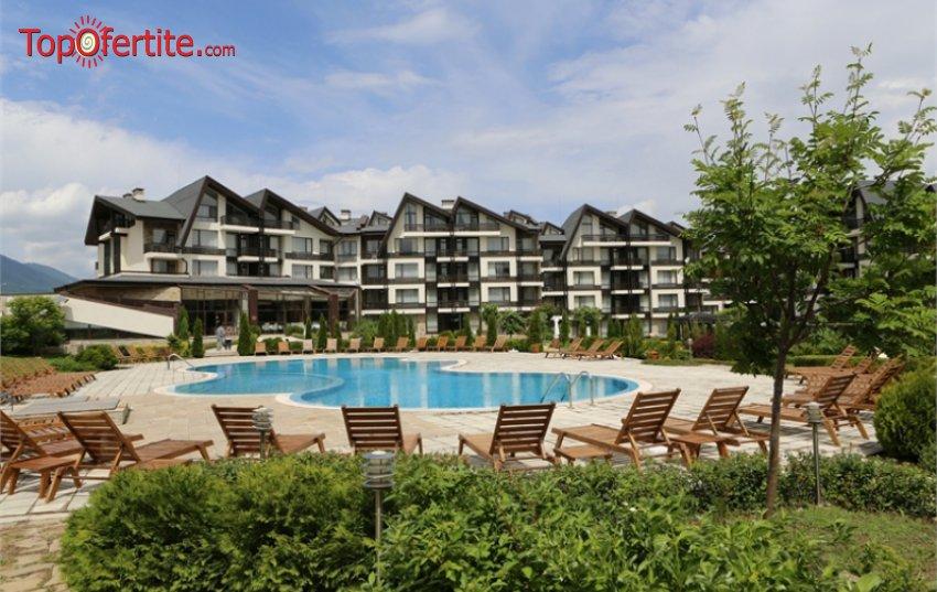 Хотел Аспен Ризорт Голф и СПА, Банско през лятото! 2, 3 или 4 нощувки + закуски, вечери, открит, закрит басейн и сауна парк на цени от 76 лв на човек