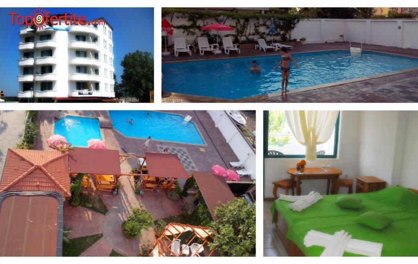 Хотел Фамилия клуб, Приморско! 7 нощувки + закуски, вечери и басейн на цени от 175 лв. на човек