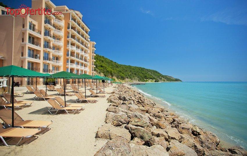 Хотел Роял Бей 4*, Елените! Нощувка на база Аll inclusive + басейн, собствен плаж и аква парк на цени от 49,50 лв на човек + Безплатно дете до 12 г