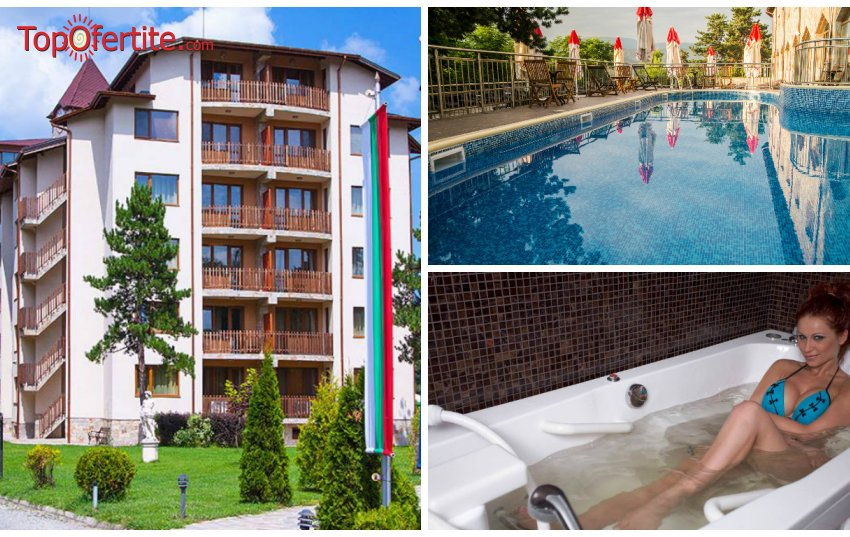 Хотел СПА Клуб Бор 4*, Велинград през юли и август! Нощувка в Апартамент за 2 възрастни и 2 деца до 12г. или 3 възрастни + закуски, вечери и Уелнес пакет само за 137 лв