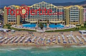 Хотел Виктория Палас 5*, Слънчев бряг Първа линия! Нощувка на база Аll inclusive + външен басейн на цени от 71 лв на човек