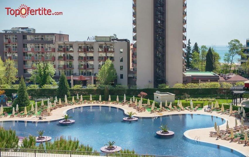 Комплекс Барсело Роял Бийч, Слънчев Бряг! 5 нощувки в обширен едноспален апартамент за Четирима + достъп до 3 външни и 1 вътрешен басейн само за 489 лв