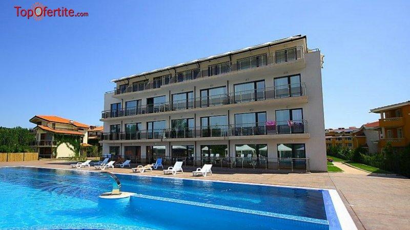 Хотел Созополи Стайл, първа линия къмпинг Златна рибка, Созопол! Нощувка в студио на база All Inclusive light на цени от 43,50 лв на човек