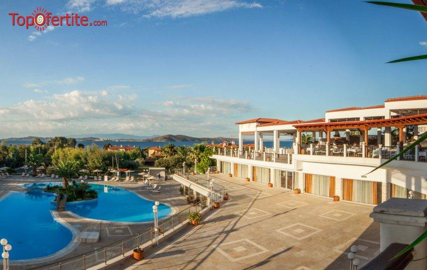 Alexandros Palace Hotel and Suites 5*, Халкидики, Гърция за 22-ри септември! 3 нощувки + закуски, вечери и безплатно за дете до 11.99г. на цени от 300.90 лв на човек