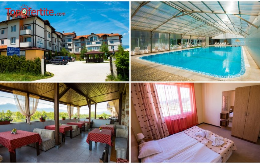 СПА хотел Вита Спрингс, село Баня, Банско! Нощувка + закуска, басейн, Уелнес пакет и опция с вечеря на цени от 27 лв на човек (22-ри септември)
