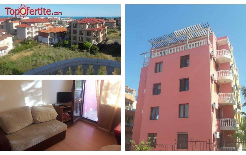 На море в Равда! 5 нощувки в двустаен обзаведен апартамент или в студио за 4 човека на цени от 250 лв за цялото помещение