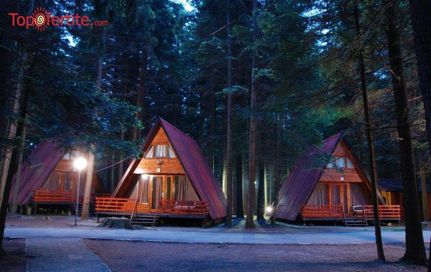 Вилно селище Малина, Боровец! Наем на луксозна вила за 4 човека + безплатно ползване на басейн за 94 лв на вечер (22-ри септември)