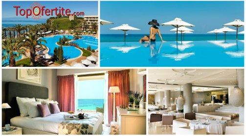 Халкидики, Гърция за Sani Beach Hotel and Spa 5* Касандра! Нощувка + закуска, вечеря и Безплатно дете до 12 г. на цени от 114,20 лв. на човек