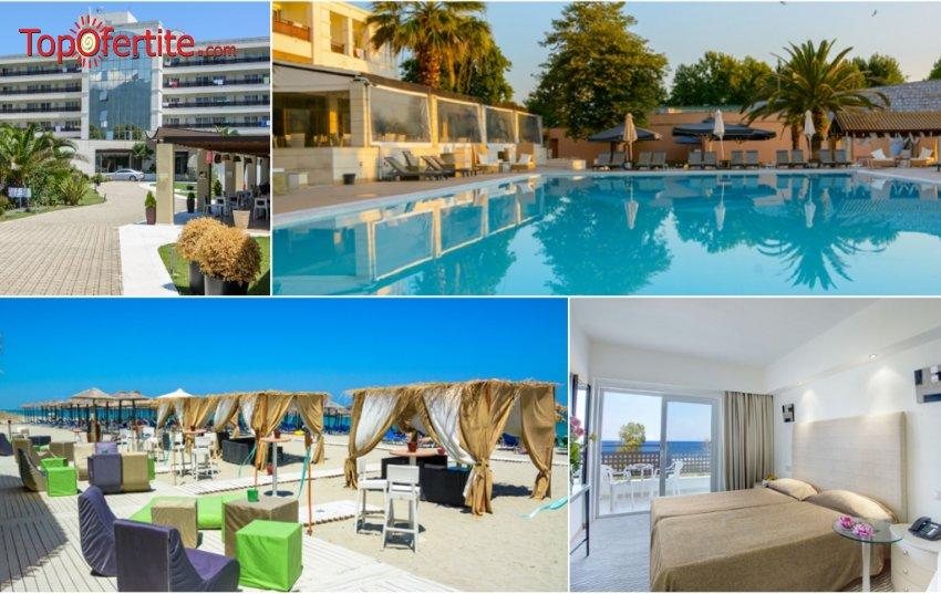 LAST MINUTE! Olympian Bay 4*, Олимпийска ривиера, Пиерия - Гърция! Нощувка на база All Inclusive + ползване на басейн на цени за 81.40 лв. на човек (22-ри септември)