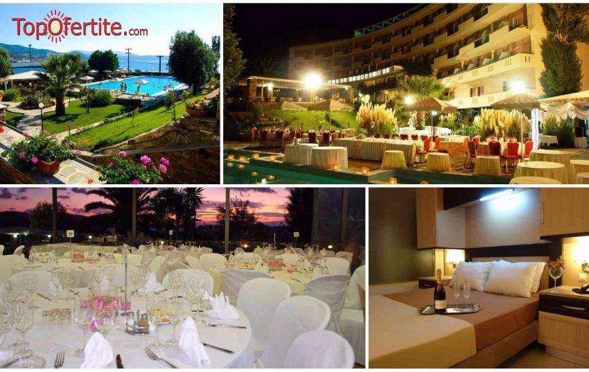 Marmari Bay Hotel 3*, остров Евбея - Гърция! Нощувка + закуска и опция вечеря на цени от 43,10 лв.  на човек (22-ри септември)