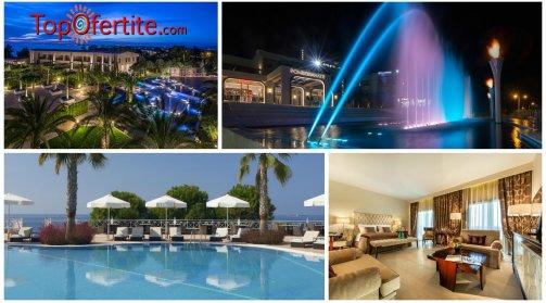 Халкидики, Гърция за Pomegranate Wellness Spa Hotel 5*, Неа Потидея! Нощувка + закуска, вечеря и Безплатно дете до 12 г на цени от 113.60 лв. на човек