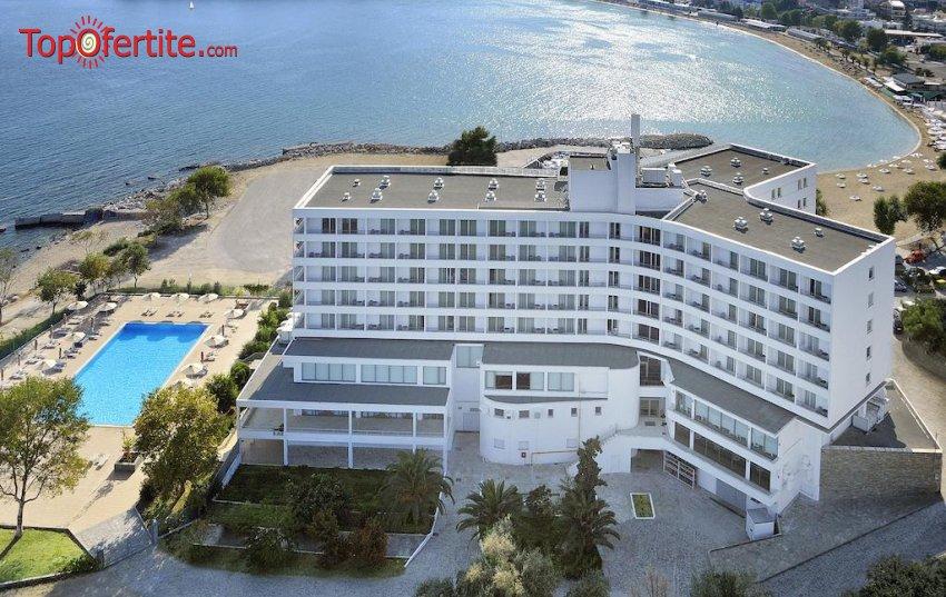 Lucy Hotel 5*, Кавала, Гърция - за Коледа! 3 нощувки + закуски, вечери, Гала вечеря с неограничена консумация на вино на цени от 375,60 лв на човек