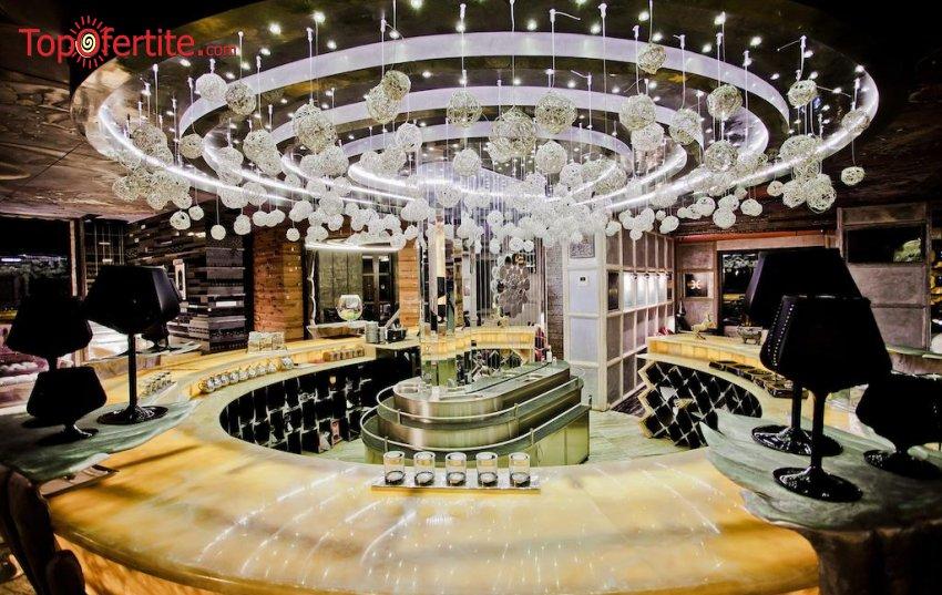 Хотел Роял Касъл 5*, Елените - за Нова година! 3, 4 или 5 нощувки + закуски, вечери, празнична новогодишна вечеря в зала Галакси-Роял Касъл с DJ програма и Уелнес пакет на цени от 441.80 лв. на човек