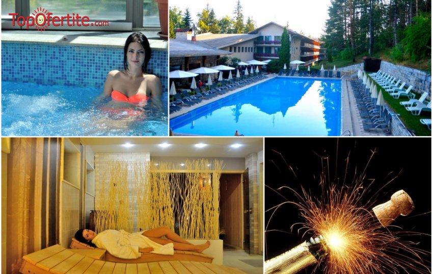 Хотел Велина 4*, Велинград - за Нова година! 3 нощувки + закуски, празнична вечеря и Уелнес пакет на цени от 438,90 лв на човек