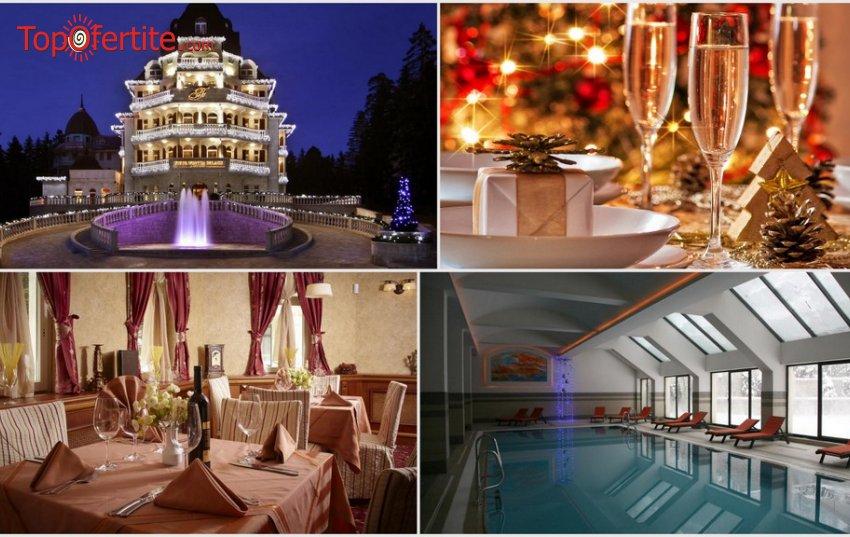 Хотел Феста Уинтър Палас 5*, Боровец за Нова година! 5 нощувки + закуски, Празнична новогодишна програма и Уелнес пакет само за 878 лв