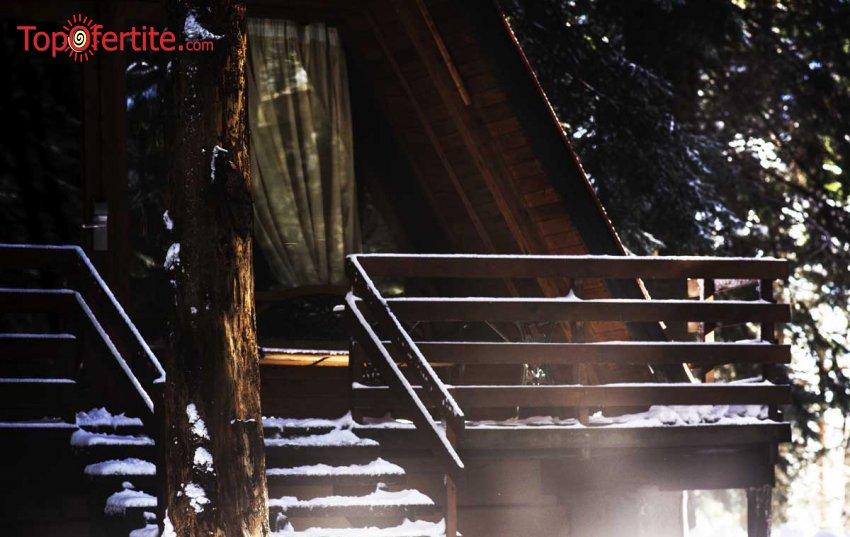 Вилно селище Малина, Боровец! Наем на луксозна вила за 4 човека + безплатно ползване на басейн за 109 лв на вечер