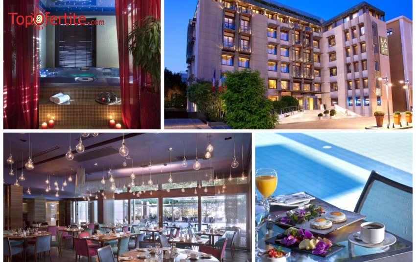 Hotel Lazart 5*, Солун, Гърция за Нова година! 3 нощувки + закуски, вечери, Новогодишна гала вечеря и Уелнес пакет на цени от 428,90 лв на човек
