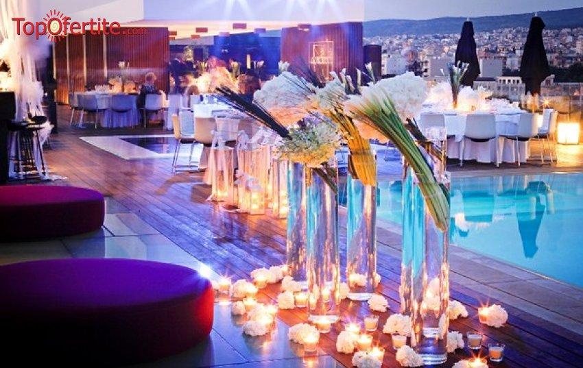 The Met Hotel Chandris 5*, Солун, Гърция за Нова година! 3 нощувки + закуски, вечери, новогодишна вечеря с неограничена консумация на алкохол и Уелнес пакет на цени от 621.80 лв на човек