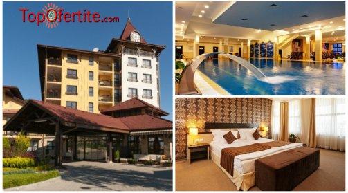 ЕКСКЛУЗИВНО - Обновеният Гранд хотел Велинград 5* с неописуем лукс и СПА! 5 нощувки + закуски, вечери и Уелнес пакет само за 75 лв. на човек на ден!